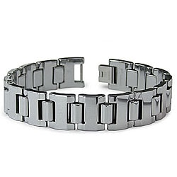 Men's Tungsten Carbide Polished Gladiator Bracelet (16 mm)