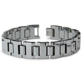 Men's Tungsten Carbide Polished Gladiator Bracelet (16 mm)