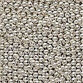 Beadaholique Silverplated Round 3 mm Beads (Case of 1000)