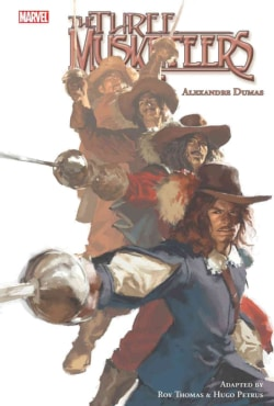 Marvel Illustrated: the Three Musketeers (Hardcover)
