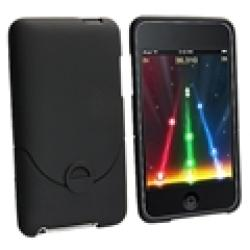 Black Rubber Case for Apple iTouch Gen 2G/ 3G