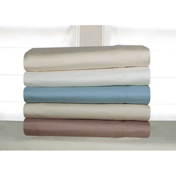 Pima Cotton 600 Thread Count Deep Pocket Sheet Set