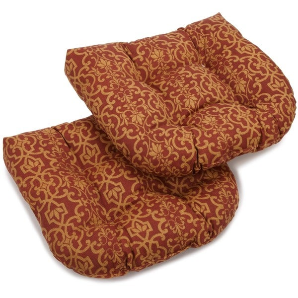 Outdoor Dining Chair Cushions Set of 2 Overstock