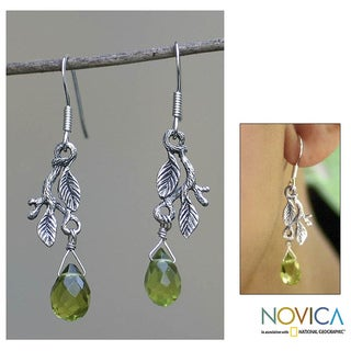'Rainforest' Earrings (Indonesia)
