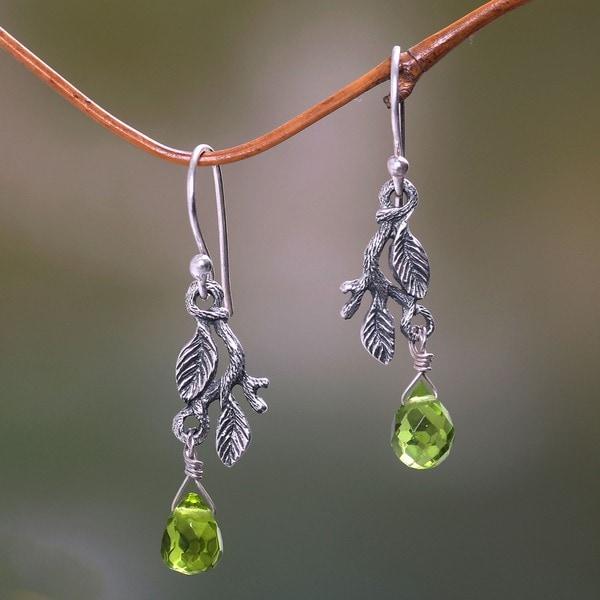 'Rainforest' Earrings (Indonesia)
