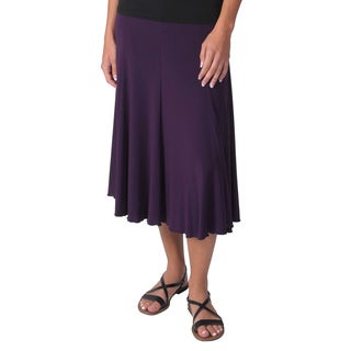 Adi Designs Women's Mid-length Flowing Skirt