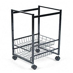 Advantus Mobile Steel File Cart