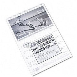 At-A-Glance Black & White Photographic Wall Calendar