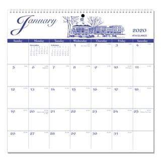 AT-A-GLANCE 12-Month Illustrators Edition Wall Calendar 2016