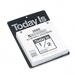 At-a-Glance 'Today Is' Refillable Daily Wall Calendar