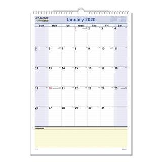 AT-A-GLANCE QuickNotes 2016 Wall Calendar