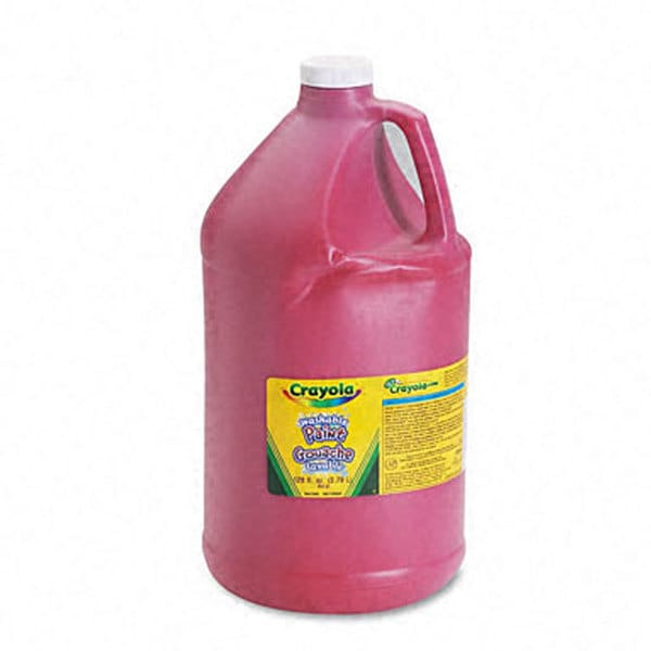 Red Washable Paint (1 Gallon)