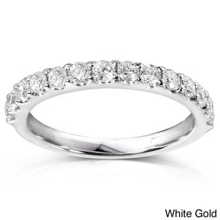 Annello 14k Gold 1/2ct TDW Diamond Wedding Band (G-H, I1-I2)