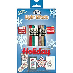 DMC Holiday Light Effects Metallic Floss Packs