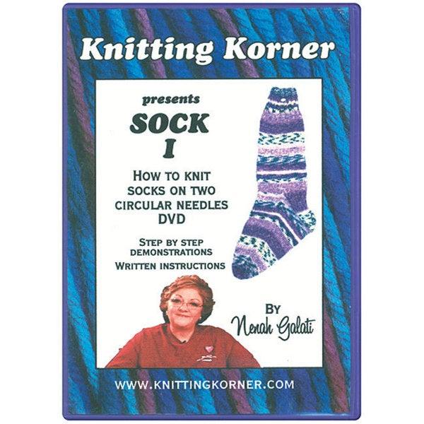 Knitting Korner 'Sock I' Instructional DVD