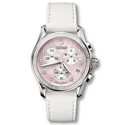 Swiss Army Women's 241257 Chrono Classic Leather Watch