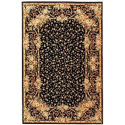 Handmade Persian Court Multicolor Wool and Silk Rug (6' x 9')