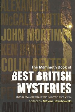 The Mammoth Book of Best British Mysteries 6 (Paperback)