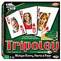Tripoley Deluxe Diamond Edition Large-Print Playing Card Board Games