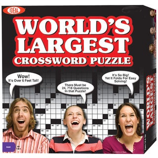 Cadaco 696 World's Largest Crossword Puzzle