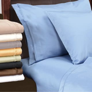 100-percent Egyptian Luxurious Cotton 1500 Thread Count Solid Pillowcase Set (As Is Item)