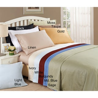 Egyptian Cotton 650 Thread Count Olympic Queen Sheet Set