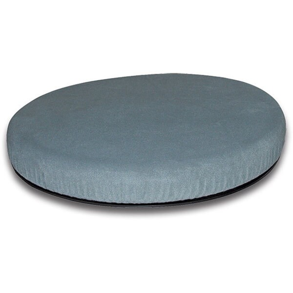 Mabis Healthcare Deluxe Grey Swivel Seat Cushion