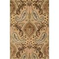 Handmade Multi Wool/ Viscose Alyah Rug (3'6 x 5'6)