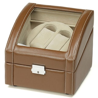 Dark Brown Double Watch Winder