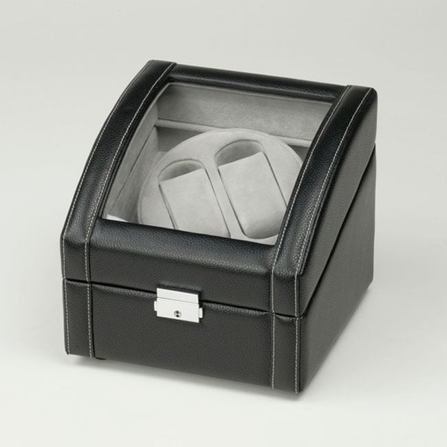 Black Double Watch Winder