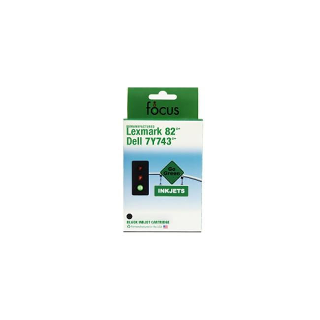 Dell 7Y743 / X0502 Black Ink Cartridge (Remanufactured)