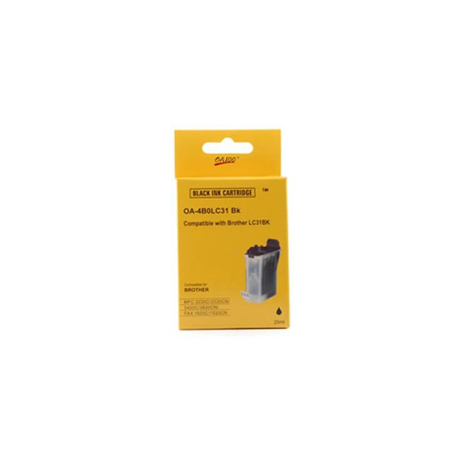 Black Ink Cartridge Brother LC31BK