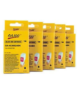 Canon BCI-21BK Black Ink Cartridge (Pack of 5)