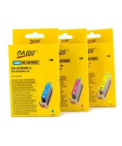 Ink Cartridge Combo for Canon BCI-6 (Pack of 3)