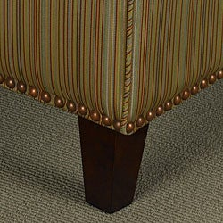 Nailhead Stripe Tapered Chair