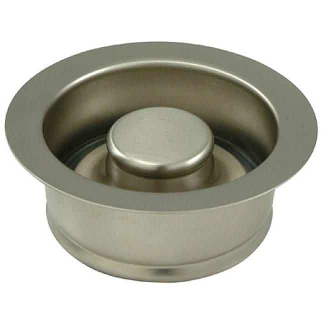 Garbage Disposal Satin Nickel Flange with Stopper