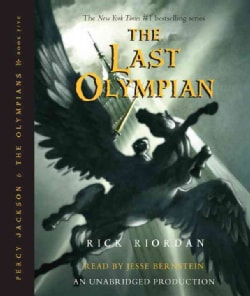 The Last Olympian (CD-Audio)