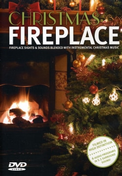 Christmas Fireplace (DVD)