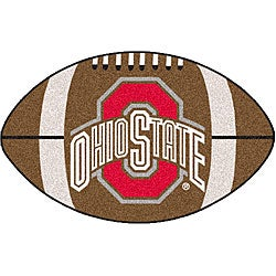 Fanmats NCAA Ohio State University Football Mat
