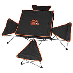 Cincinnati Bengals Folding Table and Stool Set
