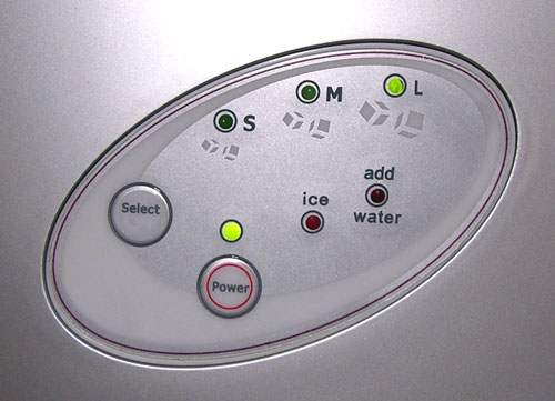 Platinum Design Stylish Portable Ice Maker