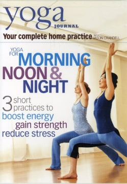 Yoga Journal: Yoga for Morning, Noon & Night with Jason Crandell (DVD)