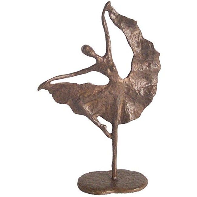 Folkloric Dancer Cast Bronze Sculpture