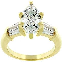 Kate Bissett Marquise Centerpiece Cubic Zirconia Ring