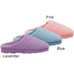 Soft Ones Women's Micro Chenille Memory Foam Clog Slippers