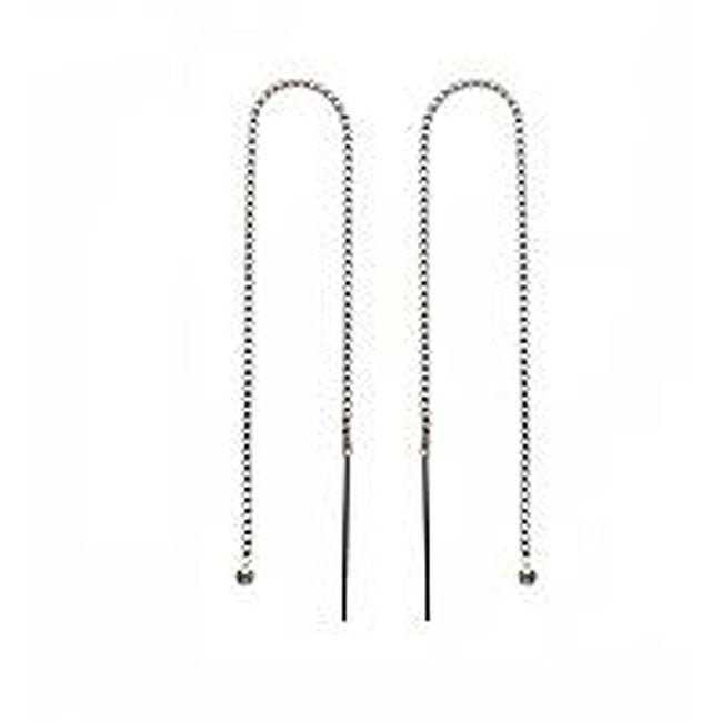 Beadaholique Sterling Silver Ear Threaders