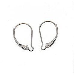 Beadaholique Sterling Silver Interchangeable Leverback Earrings