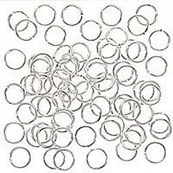 Beadaholique 100 5mm Silverplated 20-gauge Open Jump Rings