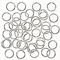 Beadaholique Silverplated 6 mm 19-gauge Open Jump Rings (Pack of 100)