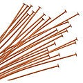 Beadaholique 3-inch 22-gauge Copper Headpins (Case of 25)